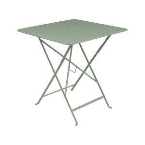 【屋外用テーブル】【折たたみ】【フランス製】「Fermob フェルモブ ビストロ スクエアテーブル71H」