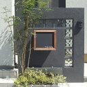 郵便ポスト 木製 木枠 黒板風「Black board ブラックボード 埋め込み型ポスト 表札あり」【送料無料】エコアコールウ…