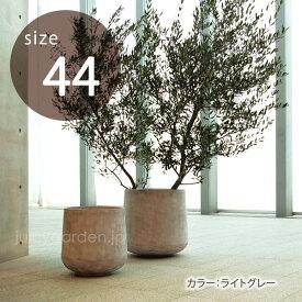 【丸型植木鉢】【大型】「クレイポット(CLAYPOT) ドロップラウンド44(Drop Round 44)50L 10号鉢相当」