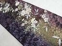 やまと誂製 ぼかししだれ桜模様織り出し袋帯【リサイクル】【中古】【着】 宗sou