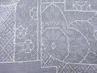 変わり色紙に花更紗模様織り出し本場泥大島紬着物【アンティーク】【中古】【着】 宗sou
