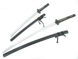 【・趣味】 黒刀・模造刀2本セット【アンティーク】【中古】【道】 宗sou