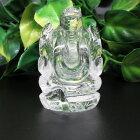 【天然石】富と学問の神ガネーシャ彫水晶。42グラム。商売繁盛☆芸術☆幸運☆動画あり☆