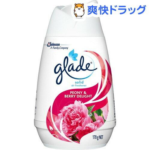 グレード ソリッドエアフレッシュナー ピオニー&ベリーディライト(170g)【グレード(Glade)】