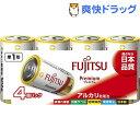 アルカリ乾電池 単1形 LR20F Premium/4S(4本入)