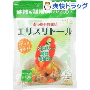 LOHAStyle エリスリトール(1kg)【LOHAStyle(ロハスタイル)】