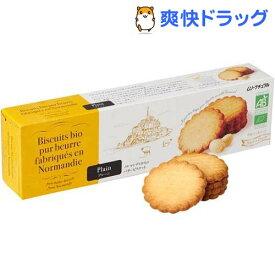 オーガニックバタービスケット プレーン(5枚*4袋入)【むそう商事】
