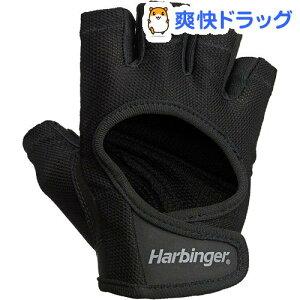 Harbinger(ハービンジャー) パワーグローブ 女性用 ブラック*ブラック Mサイズ 16152(1双)