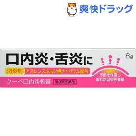【第3類医薬品】クーペ口内炎軟膏(8g)【クーペ】