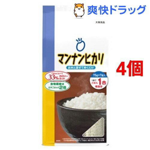 マンナンヒカリ スティックタイプ(75g*7袋入*4コセット)【マンナンヒカリ】【送料無料】