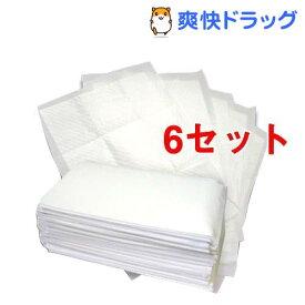 ペットシーツ ワイド 厚型 せっけんの香り(50枚入*6コセット)【オリジナル ペットシーツ】