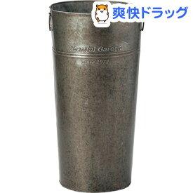 グリーンハウス アンティーク風ブリキバケツ L 2529-A ツツガタ(1コ入)【グリーンハウス(ガーデニング用品)】