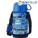 ふわふわAir 2WAY子供水筒 450mL BL(1コ入)【送料無料】