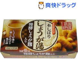 ノイカ 発酵しょうが麹入り 本しぼりしょうが湯(18g*20包)