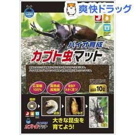 インセクトランド バイオ育成 カブト虫マット(10L)【インセクトランド】