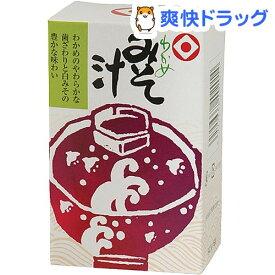 日本食品工業 わかめみそ汁(9g*6袋入)