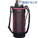 サーモス 真空断熱スポーツボトル 1.0L ブラックピンク FFZ1000F(1コ入)【サーモス(THERMOS)】[サーモス 水筒 カバー 1L]【送料無料】