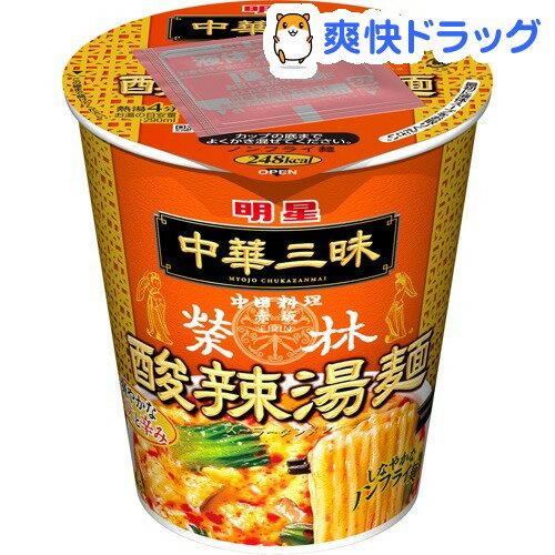 中華三昧 タテ型 赤坂榮林 酸辣湯麺(1コ入)【中華三昧】