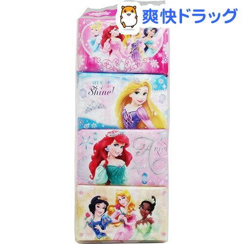 ディズニー プリンセス ミニポケットティシュー(16枚(8組)*8コ入)