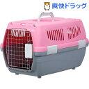 マルカン 2ドアキャリー 小型犬・猫用 ピンク(1コ入)[犬 キャリーバッグ ペット キャリー バッグ]【送料無料】