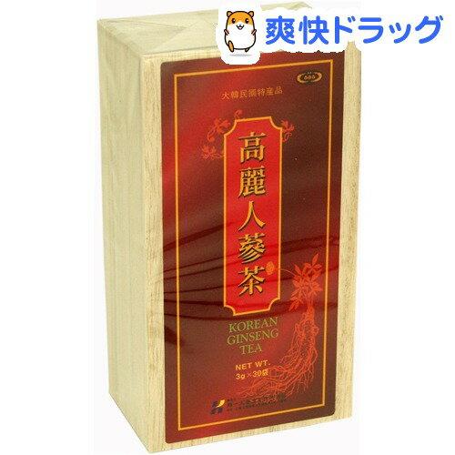 【訳あり】【アウトレット】高麗人参茶(3g*30袋入)【ミナミヘルシーフーズ】