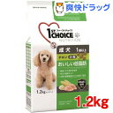 ファーストチョイス 成犬 1歳以上 小粒 チキン(1.2kg)