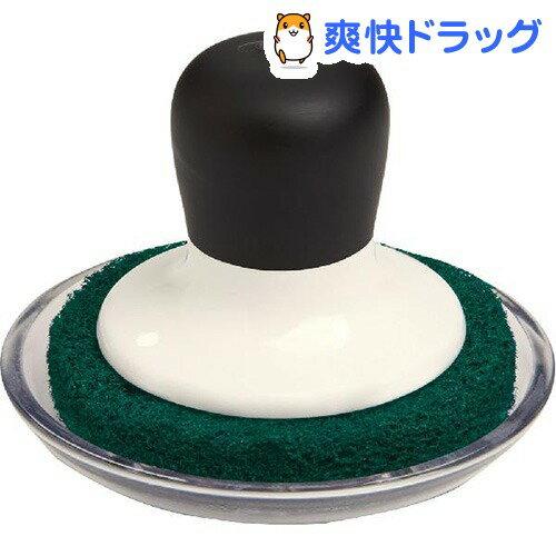 オクソー コンパクトスクラブ トレイ付き 12125900(1コ入)【オクソー(OXO)】