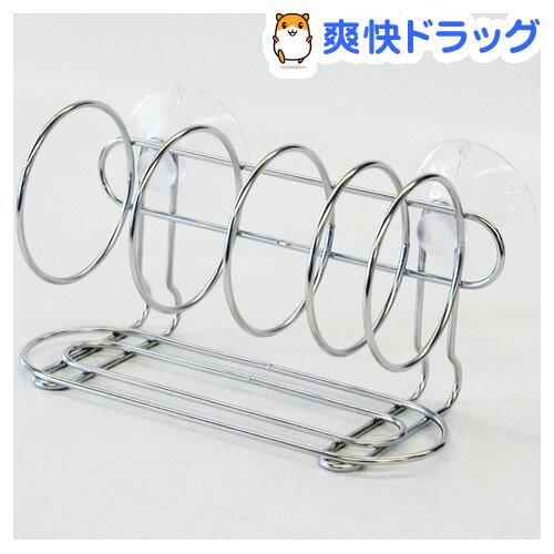 アクアスタイル ステンレス製 スポンジラック(1コ入)【ホリシン】