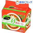 サッポロ一番 グリーンプレミアムゼロ 醤油ラーメン(5食入)【サッポロ一番】