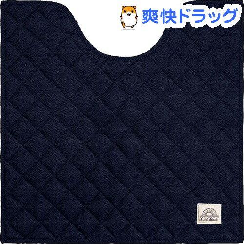 トイレマット レイドバック ネイビーブルー 60*60cm(1枚入)【レイドバック(Laid Back)】