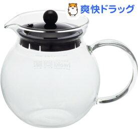 イワキ ジャンピングティーポット ブラック K894T-BK(1コ入)【イワキ(iwaki)】