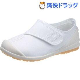 アサヒ健康くん S034 ホワイト/ホワイト KC36601- 16.5cm(1足)