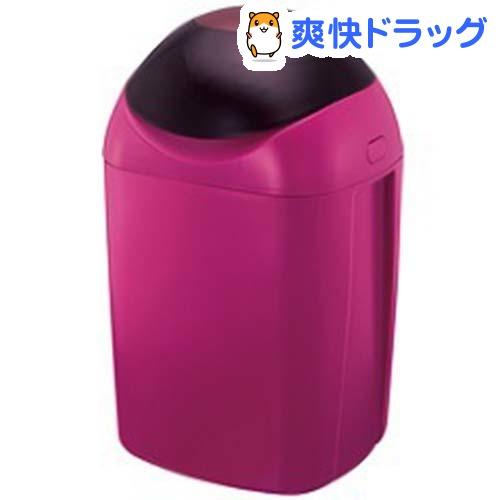 強力防臭抗菌おむつポット ポイテック ワインレッド(1コ入)【送料無料】