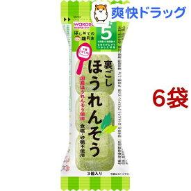 和光堂 はじめての離乳食 裏ごしほうれんそう(2.1g*6コセット)【はじめての離乳食】