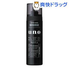 ウーノ スーパーハード ムース(180g)【ウーノ(uno)】