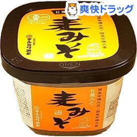 有機麦みそ(600g)【マルカワみそ】