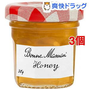 ボンヌママン ハチミツ(30g*3個セット)【ボンヌママン】