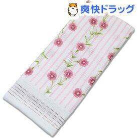 今治産 布ごよみ フェイスタオル 撫子(なでしこ) ピンク 35006(1枚入)