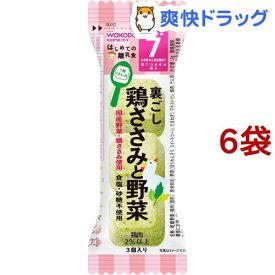 和光堂 はじめての離乳食 裏ごし鶏ささみと野菜(2g*6コセット)【はじめての離乳食】