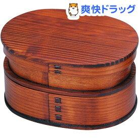 わっぱ弁当箱2段 小判 T-66504(1コ入)