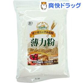 オーガニック小麦粉 薄力粉(500g)【健友交易】