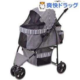 わんわんカート スマートハンディ ストライプグレー(1台)【d_gex】【わんわんカート】