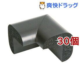 カーボーイ 安心クッションコーナー用 大 ブラック(30個セット)【カーボーイ】