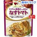 マ・マー たっぷりパスタソース トマトの果肉たっぷりのなすトマト(260g*6コ)【マ・マー】