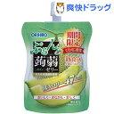 ぷるんと蒟蒻ゼリー スタンディング メロン(130g)【オリヒロ】