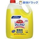 花王プロシリーズ バスマジックリン 業務用(4.5L)【kao1610T】【花王プロシリーズ】