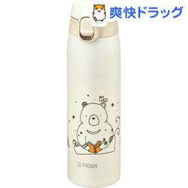 タイガー ステンレスミニボトル サハラマグ(かめいち堂) 0.5L クマ MCT-A050 W(1コ)【タイガー(TIGER)】[水筒]