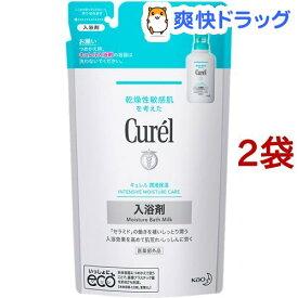 キュレル 潤浸保湿 入浴剤 つめかえ用(360ml*2コセット)【キュレル】