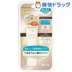 モイストラボ 薬用美白BBクリーム ナチュラルベージュ(33g)【モイストラボ】