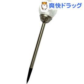 ステンレス製ソーラー ひび加工ガラス ボールライト DX 直径約12*高さ55cm ESL-163(1本入)
